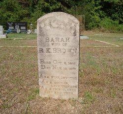 Sarah <i>Rogers</i> Brown