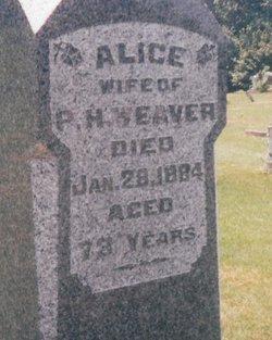 Alice <i>Dimmitt</i> Weaver
