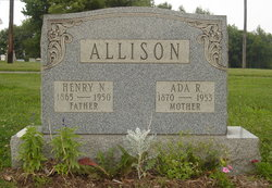 Ada Rachel <i>McClurg</i> Allison