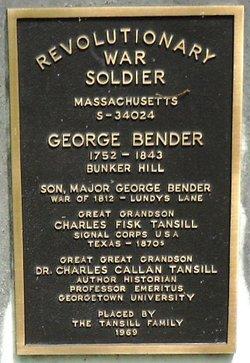 Maj George Bender