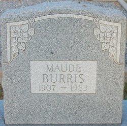 Addie Maude <i>Knight</i> Burris