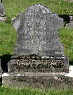 Anna B <i>Gallaway</i> Anthony