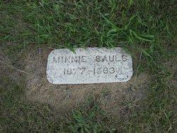 Minnie Frances <i>Payne</i> Sauls