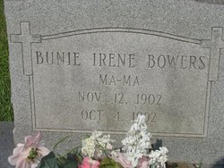 Bunie Irene Bowers