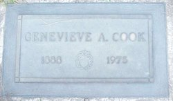 Genevieve M <i>Anderson</i> Cook