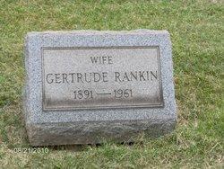Gertrude Rose <i>Keller</i> Rankin