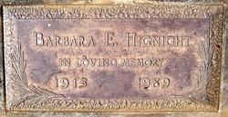 Barbara Evelyn <i>Lynn</i> Hignight