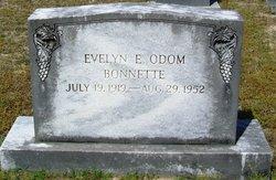 Evelyn E <i>Odom</i> Bonnette