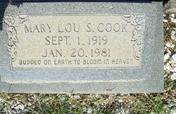 Mary Lou <i>Sykes</i> Cook