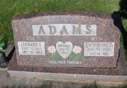 Leonard S Jake Adams