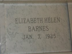 Elizabeth Helen <i>Green</i> Barnes