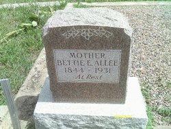 Anna Elizabeth Bettie <i>Allen</i> Allee