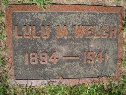 Lulu <i>Morgan</i> Welch