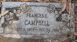Frances E Campbell