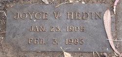 Joyce V Hedin