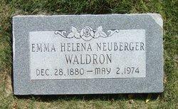 Emma Helena <i>Neuberger</i> Waldron