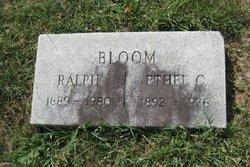 Ethel C <i>Cantor</i> Bloom