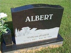 William Herman Pat Albert, II