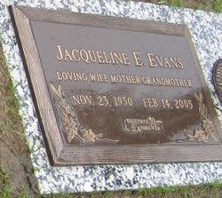 Jacqueline Elizabeth <i>Schaffert</i> Evans