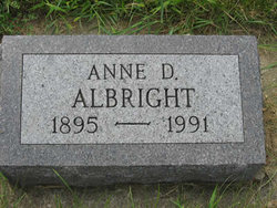 Anne D Albright
