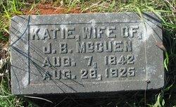 Katie Kezia <i>Davenport</i> McCuen