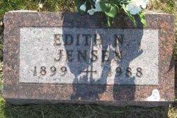 Edith N <i>Carlson</i> Jensen