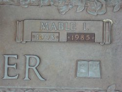 Mable Irene <i>Shouse</i> Carver