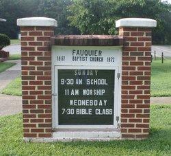 Fauquier Baptist Church Cemetery