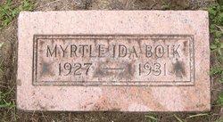 Myrtle Ida Boik