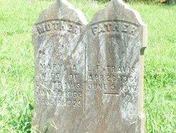 Mary Ann <i>Travis</i> Travis