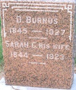 Sarah C <i>Lowthian</i> Burrus