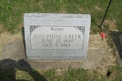 Josephine <i>Bass</i> Creek