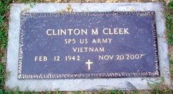 Clinton M Cleek