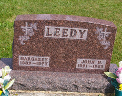 Margaret Valentine Maggie <i>Rusmisel</i> Leedy