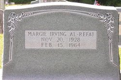 Margie <i>Irving</i> Al-Refai