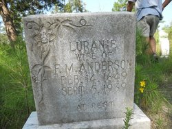 Luranie <i>Gant</i> Anderson