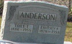 Eutsey <i>Kinard</i> Anderson