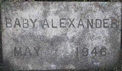 Baby Alexander