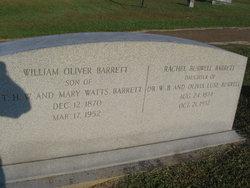 Rachel <i>Burwell</i> Barrett