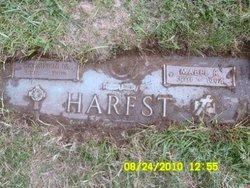 Harrison George HaRRY Harfst, Sr