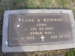 Frank Albert Bowman