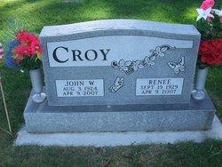 John W Croy