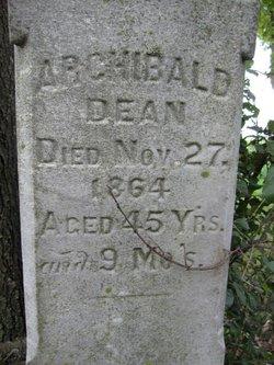 Archibald Dean