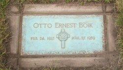 Otto Ernst August Boik