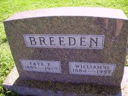 William O Breeden