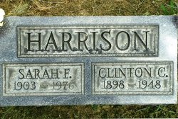 Sarah F <i>Stegner</i> Harrison