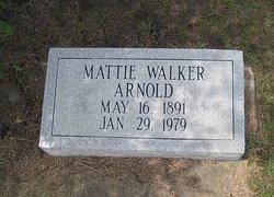 Mattie <i>Walker</i> Arnold