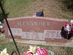 Thelma R <i>Kennedy</i> Alexander