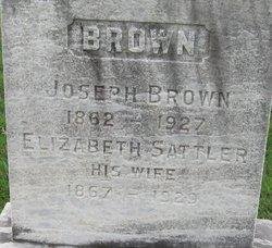 Elizabeth <i>Sattler</i> Brown