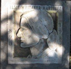 Elsie Whitaker <i>Whitaker</i> Martinez